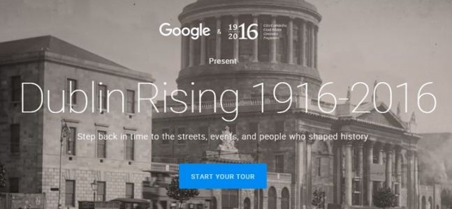 Dublin Rising 1916 Google Tour